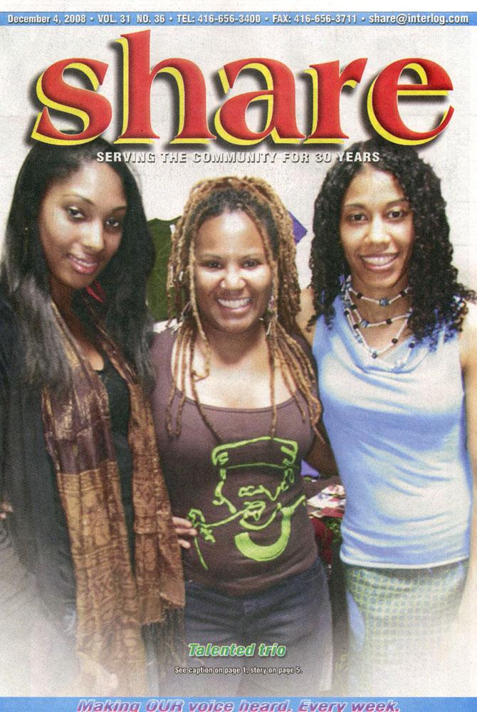 Share Magazine - Dec 2008